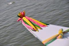 Fortunato decori per la barca Fotografie Stock