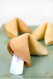 Fortune Cookie. With a special message for you Stock Image