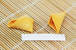 Fortune Cookie Blank Stock Image