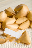 Fortune cookie blank Royalty Free Stock Photography