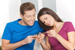 Fortune cookie. Stock Images