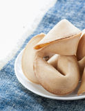 The fortune cookie Royalty Free Stock Photography