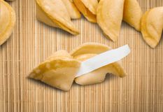 Fortune Cookie Royalty Free Stock Photography