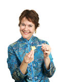 Fortune Cookie - Happy Royalty Free Stock Photos