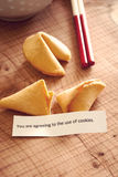 Fortune Cookie Internet Policy Royalty Free Stock Image