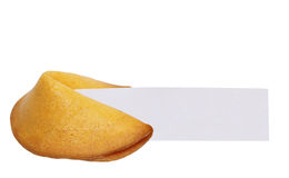Fortune Cookie Message Stock Image