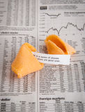 Fortune Cookie News Royalty Free Stock Image