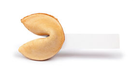 Fortune Cookie Prediction Royalty Free Stock Photography