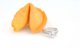 Fortune cookie proposal Stock Image