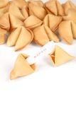 Fortune Cookies. With white background Stock Images