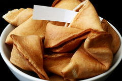 Fortune Cookies Royalty Free Stock Photo