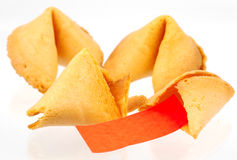 Fortune Cookies. Photo of Fortune Cookies royalty free stock photography