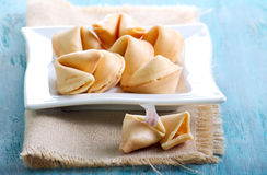 The fortune cookies Royalty Free Stock Images