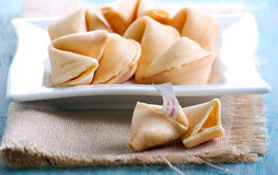 The fortune cookies Stock Photo