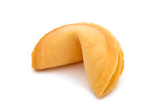 Fortune Cookies. On a white background stock photos