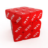 Fortune cube Stock Photos