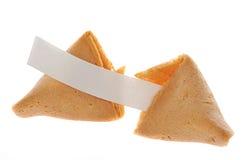 fortune de biscuit Photographie stock