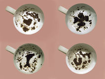 Fortune du relevé en feuilles de thé Photo libre de droits