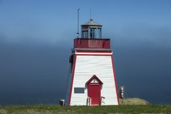 Fortune Head Lighthouse. Newfoundland and Labrador, Canada royalty free stock image