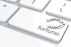 Fortune horseshoe Royalty Free Stock Photography