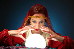 Fortune-teller Royalty Free Stock Photo