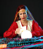 Fortune-teller royalty free stock photography