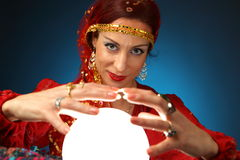 Fortune-teller Stock Photography