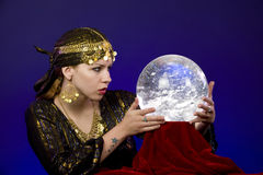Fortune-Teller Photographie stock