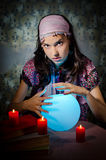 Fortune-teller Fotos de Stock Royalty Free