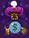 Fortune teller stock photography