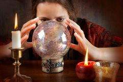 Fortune Teller Royalty Free Stock Images