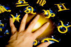Fortune teller astrology Stock Photos