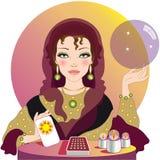 The fortune teller Stock Photos