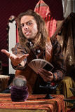 Fortune Teller Beckoning Royalty Free Stock Photography