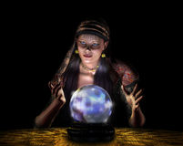 Fortune Teller - with clipping path Royalty Free Stock Images