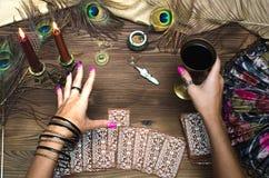 Tarot cards. Stock Photo