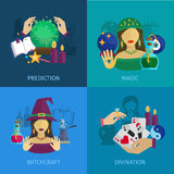 Fortune Teller Flat Stock Images