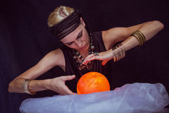 Fortune teller forecasting the future Stock Images
