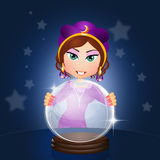 Fortune teller Royalty Free Stock Image