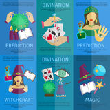 Fortune Teller Poster Royalty Free Stock Images