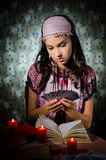 Fortune-teller predicting the future Stock Photography