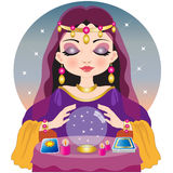 The fortune teller Royalty Free Stock Photo