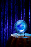 Fortune teller's Crystal Ball with dramatic lighting Stock Photography