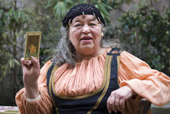 Fortune teller Royalty Free Stock Photo