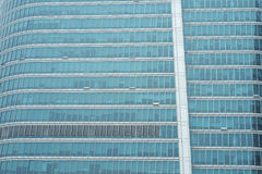 Fortune Tower's Glass Wall Stock Images