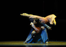 The fortunes of dependency-The third act of dance drama-Shawan events of the past. Guangdong Shawan Town is the hometown of ballet music, the past focuses on the Royalty Free Stock Images