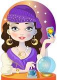 Fortuneteller Royalty-vrije Stock Afbeelding
