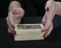 fortuneteller ręki zdjęcie royalty free