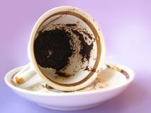 Fortunetelling su caffè Immagini Stock