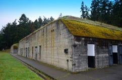 FortWorden bunker royaltyfri foto